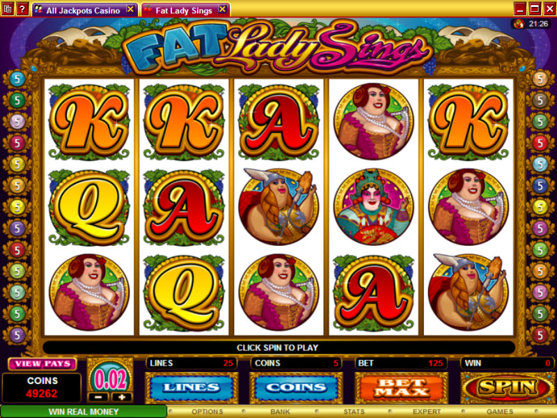 Fat Lady Sings Slot - Play the Online Slot for Free